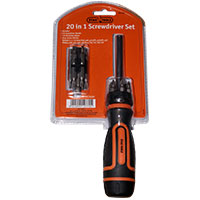 Stag Tools 20 in 1 Screwdriver & Bit Set