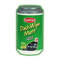 Carplan Matt Dash Cleaner Wipes -  Mini Tub x20