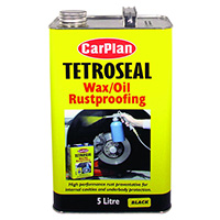 Carplan Tetroseal Wax Oil Black - 5ltr