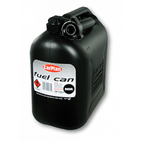 Carplan Plastican Diesel Fuel Can (Black) - 10Ltr