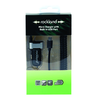 Rockland Micro Charger with Built in USB Port