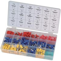 Streetwize 260pcs Wire Terminal Assortment