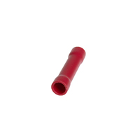 Pearl Red Butt terminal Connectors - Qty 50