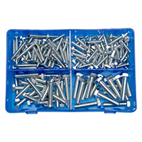 Pearl Assorted HT Set Screws 6x25mm - Qty 150