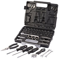 "Draper Redline 105pc 1/4"" & 3/8"" Mechanics Tool Kit"