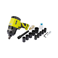 "Draper Storm Force Composite Air Impact Wrench Kit (1/2"" Square Drive)"