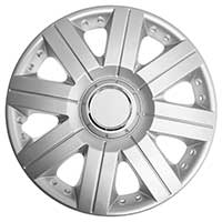 Top Tech Torque 14 Inch Wheel Trims Silver (Set of 4)