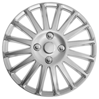 Top Tech Speed 14 Inch Wheel Trims Silver (Set of 4)