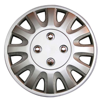 Top Tech Motion 15 Inch Wheel Trims Silver (Set of 4)