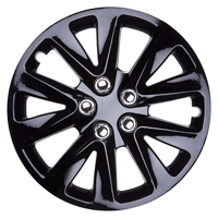 Top Tech Velocity 13 Inch Wheel Trims Gloss Black (Set of 4)