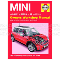 Haynes Workshop Manual MINI Petrol (July 01 - 05) Y to 05