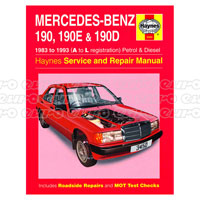 Haynes manuals haynes workshop repair manuals euro car parts click to enlarge haynes workshop manual mercedes benz 190 fandeluxe Gallery