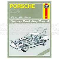 haynes workshop manual porsche 924 924 turbo 76 85 up to c rh eurocarparts com porsche 924 haynes manual download repair manual porsche 924