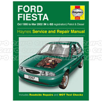 Haynes Workshop Manual Ford Fiesta Petrol & Diesel (Oct 95 - Mar 02) N to 02