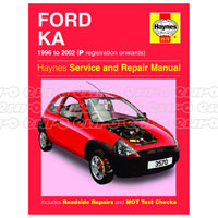 Haynes Workshop Manual Ford Ka   P To Product Code