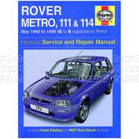 Haynes manuals haynes workshop repair manuals euro car parts click to enlarge haynes workshop manual rover metro 111 114 petrol may 90 98 fandeluxe Gallery