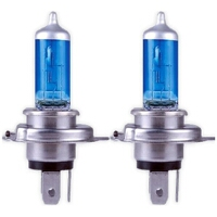 Ultra Ultra H4 5000K Halogen Power Headlight Bulbs (Pair)