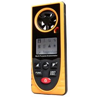 Top Tech Multipurpose Anemometer - Weather Tool