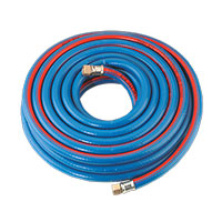 "Sealey AH10R Air Hose 10mtr x 8mm with 1/4""BSP Unions Extra Heavy-Duty"