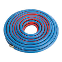 "Sealey AH15R/38 Air Hose 15mtr x 10mm with 1/4""BSP Unions Extra Heavy-Duty"