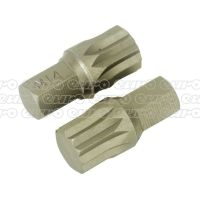 Sealey AK5532 Spline Bit M14 x 30mm Pack of 2