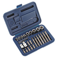 Sealey AK619 TRX-Star* Socket & Bit Set 30pc