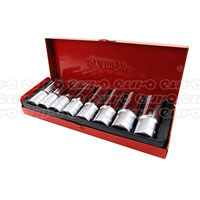 Ampro Deep Socket Set 8pc (12-23mm)