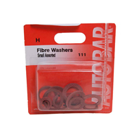 Small Fibre Washers Assorted - Aprox 40
