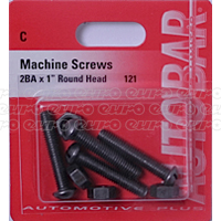 Machine Screws 2Ba X 1 Machine Screws 2Ba X 1