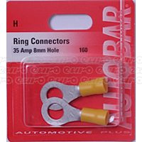 Ring Connector 8mm 35 Amp
