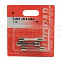 Glass Fuses 25 Amp
