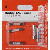 Radio/T.V. Fuses Assorted