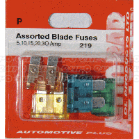 Blade Fuses 5,10,15,20,30 Amp