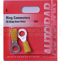 Ring Connectors 35a 6mm Hole