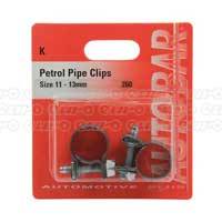 Petrol Pipe Clips 11 - 13mm