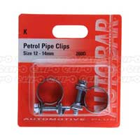 Petrol Pipe Clips 13 - 14mm
