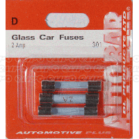 Glass Fuses 2 Amp