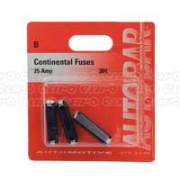 Continental Fuses 25 Amp