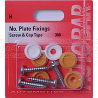 No. Plate Fixings Screw Type