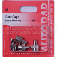 Dust Caps - Metal With Key