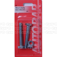 Nuts & Bolts 8mm x 55mm