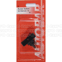 Rocker Switch - Red