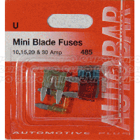 Assorted Mini Blade Fuses