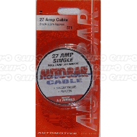 27 Amp Cable - 2.2m App. Black