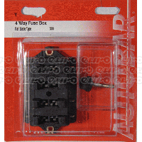Fuse Box With Cover - 4 Way