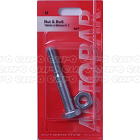 Nut & Bolt 10mm x 65mm