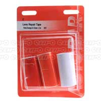 Lens Repair Tape - Red Orange Clear - 1mtr