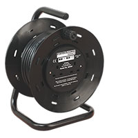 Sealey BCR25 Cable Reel 25mtr 4 x 230V 1.25mm? Thermal Trip