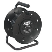 Sealey BCR2525 Cable Reel 25mtr 4 x 230V 2.5mm? Thermal Trip