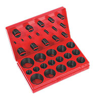 Sealey BOR419 Rubber O-Ring Assortment 419pc - Metric
